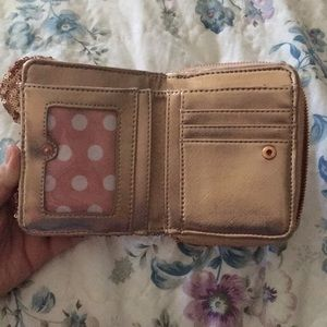 Loungefly Bags - Disney Loungefly Rose Gold Wallet